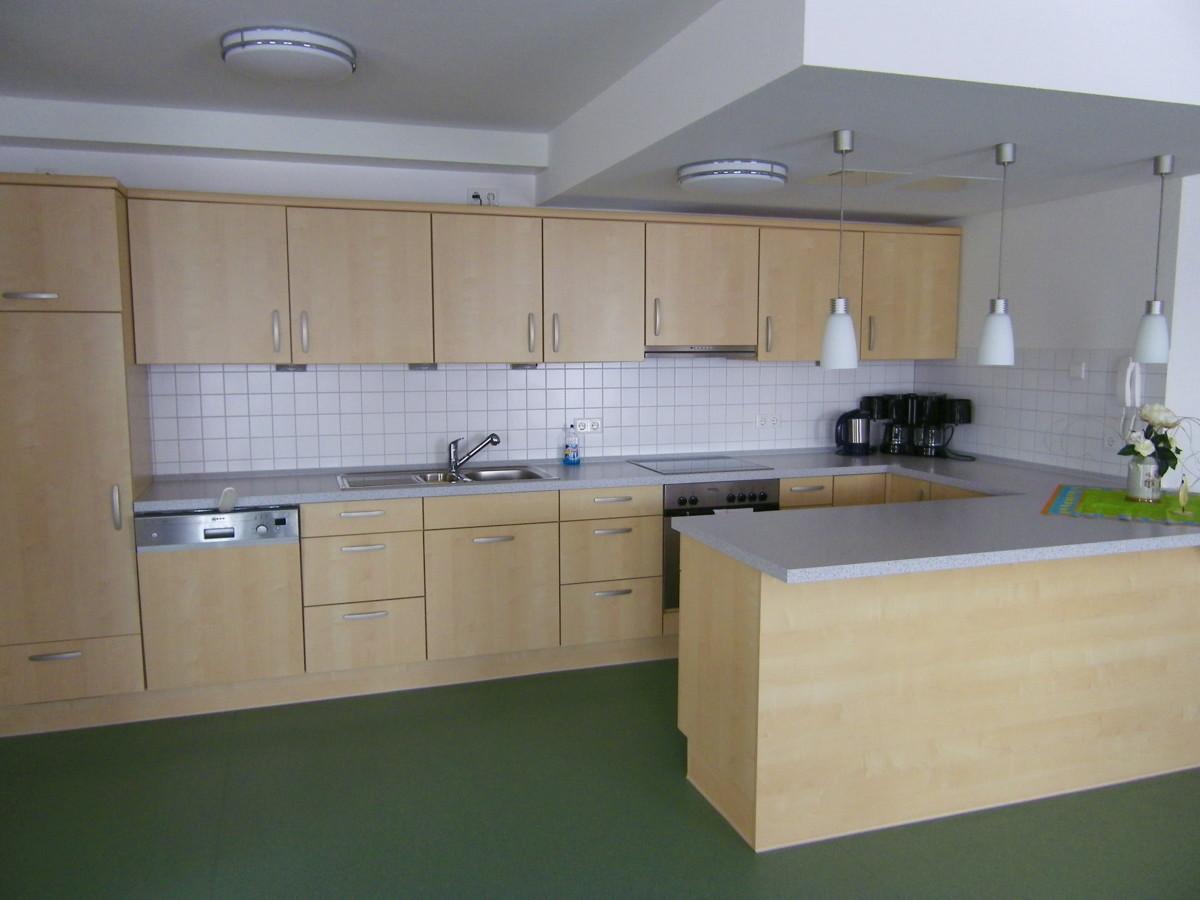 Küche im Gemeinschaftsraum